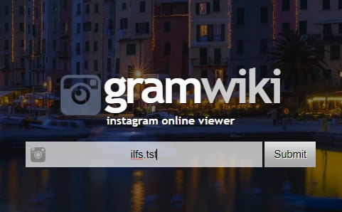 Gramwiki enter username