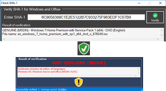 How to Check if a Windows or Office ISO is Genuine