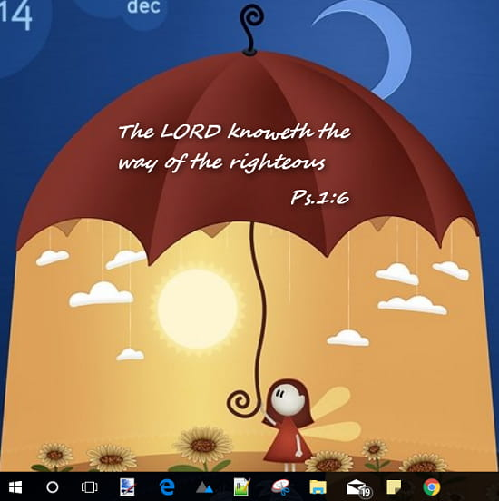 How to Show Random Bible Verse of the Day on Desktop