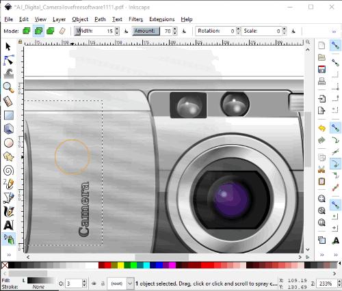 Inkscape- interface