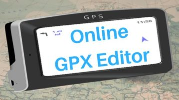 Top 5 Websites With An Online GPX Editor