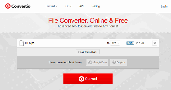 ps to eps converter