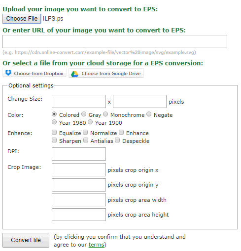 convert ps to eps online