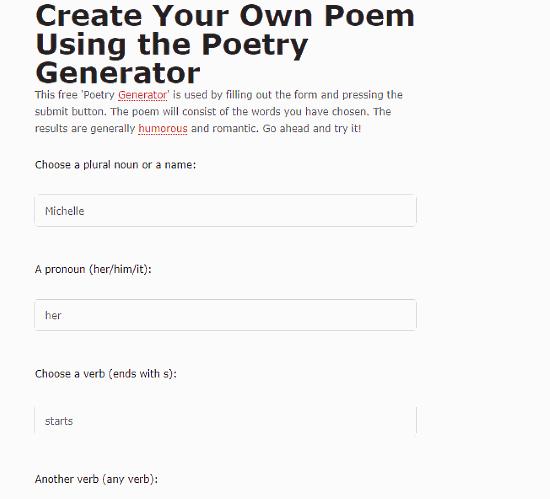 rhyming poem