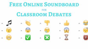Free Online Soundboard For Classroom Debates
