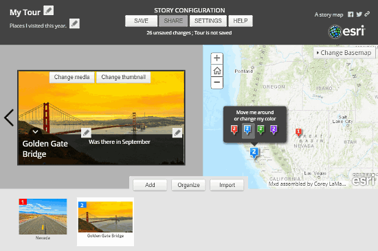 story map tour builder