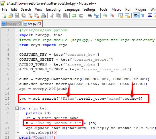 bot python file editing