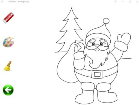 christmas coloring pages home
