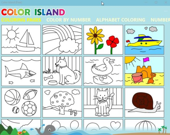 8 Windows 10 Coloring Pages Apps For Kids