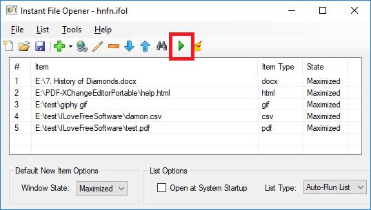 instant file opener open multiple files together