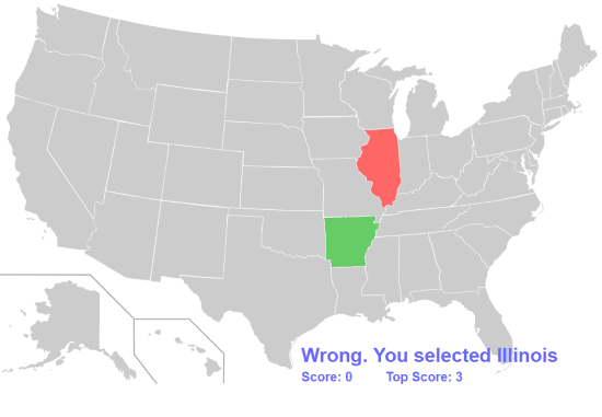 Learn Location Of 50 States Of The USA With These Map Quiz Games