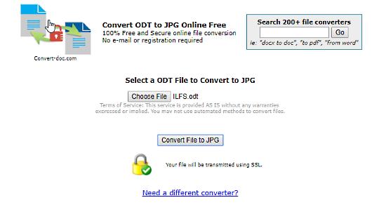 convert-doc: odt to jpg converter