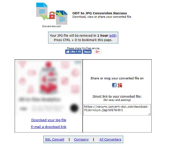 convert-doc: convert odt to jpg online
