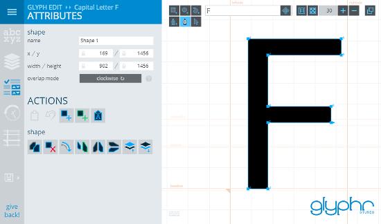 GlyphrStudio: online font creator studio