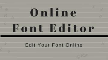 Top Free Online Font Editor Websites