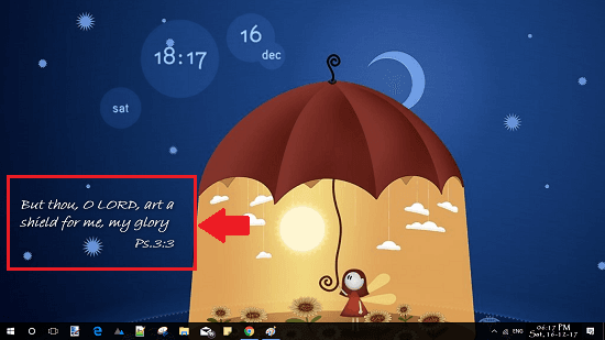 random bible quote on desktop wallaper