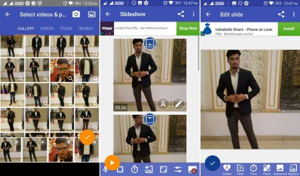 scoompa video com fotos