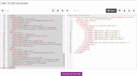 8 Free Online XML To XSD Converter Websites