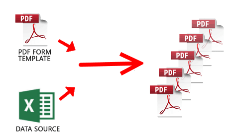 How to Automatically Fill PDF Forms in Bulk using Excel Sheet