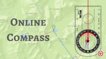 Free Online Compass Tool To Plot Routes On Map
