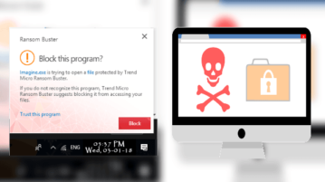 Ransomware Blocking Software from Trend Micro RansomBuster