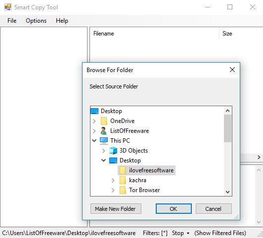 Smart copy tool
