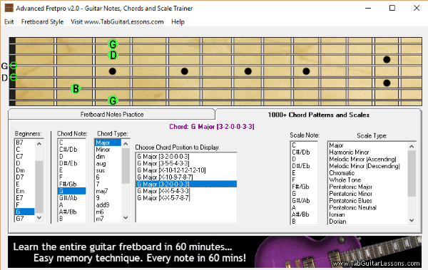 10 Free Guitar Chord Generator Software for Windows