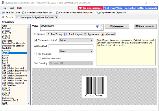2 Free Batch Barcode Generator Software For Windows