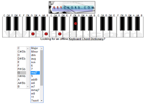 10 Free Online Piano Chord Generator