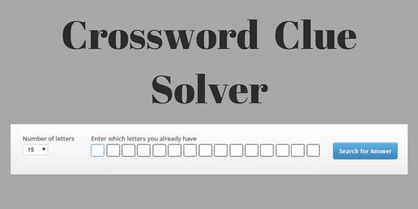 10 Top Free Crossword Clue Solver Websites
