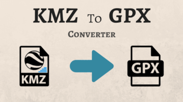 Best Free KMZ To GPX Converter Software For Windows