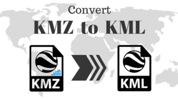 Best Free KMZ To KML Converter Software For Windows