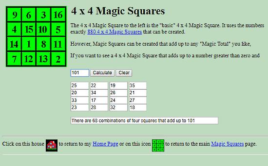 5 Free Magic Square Generator Websites