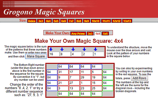 6x6 Magic Square Solver