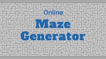 Free Maze Generator Websites To Create Maze Puzzle Online