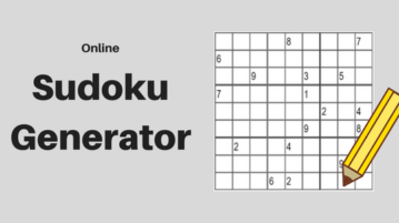 Sudoku Generator Websites to Create Sudoku Online