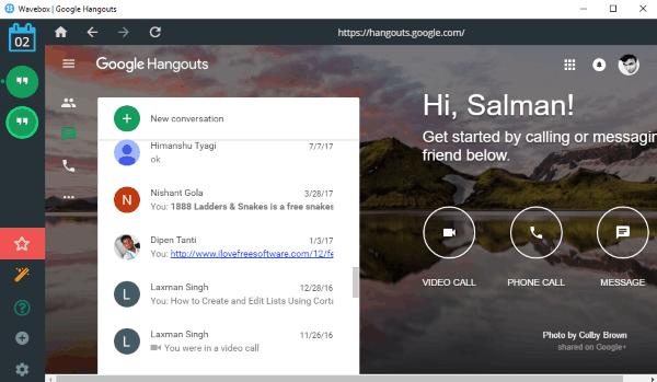 7 Free Google Hangouts Desktop Clients for Windows