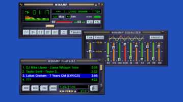 Free Online Winamp Music Player