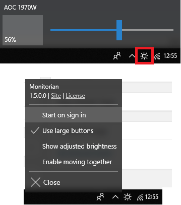 5 Free Brightness Control Slider Software for Windows 10