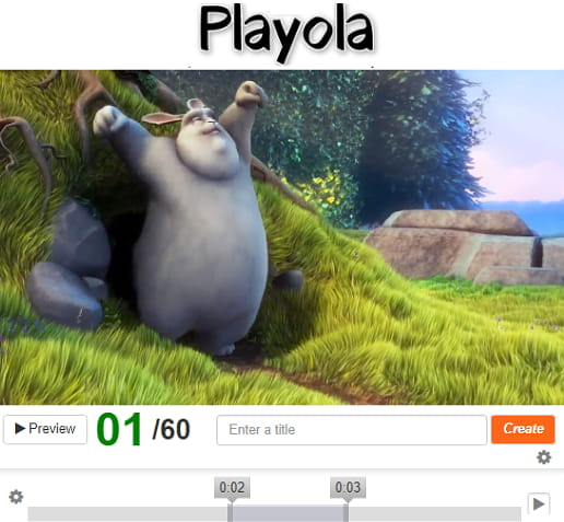 Playola free video loop create online