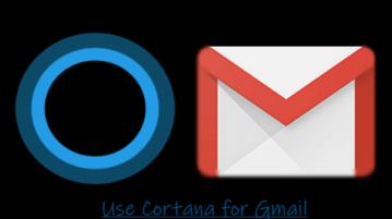 Search Gmail using Cortana