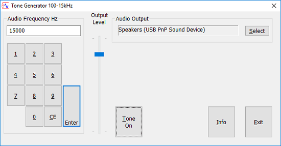 5 Free Test Tone Generator Software for Windows