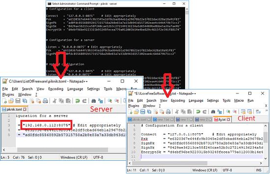 client server file