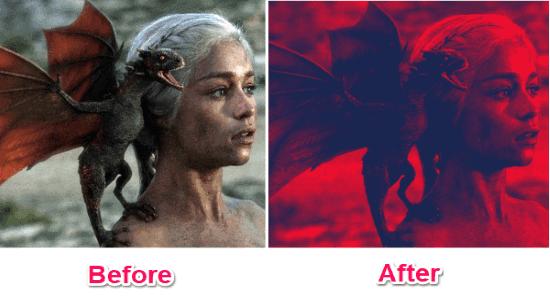 convert photos to duotone