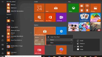 disable right click menu in windows 10 start menu