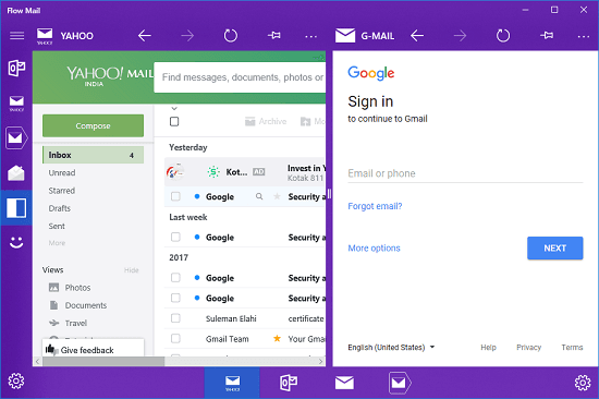 flow mail windows 10 mail app