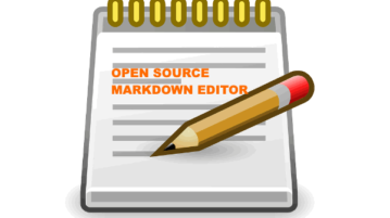 free open source markdown editor software