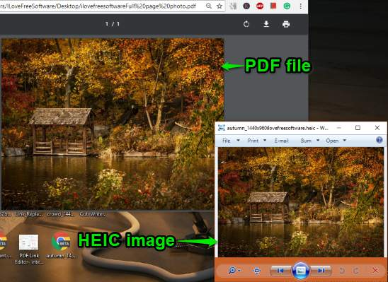 heic image converted to pdf