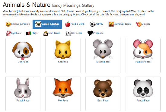 Know Every Emoji With These 10 Free Emoji Meaning Websites