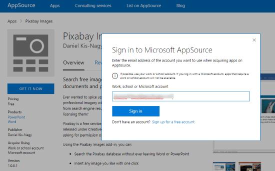 install add-in